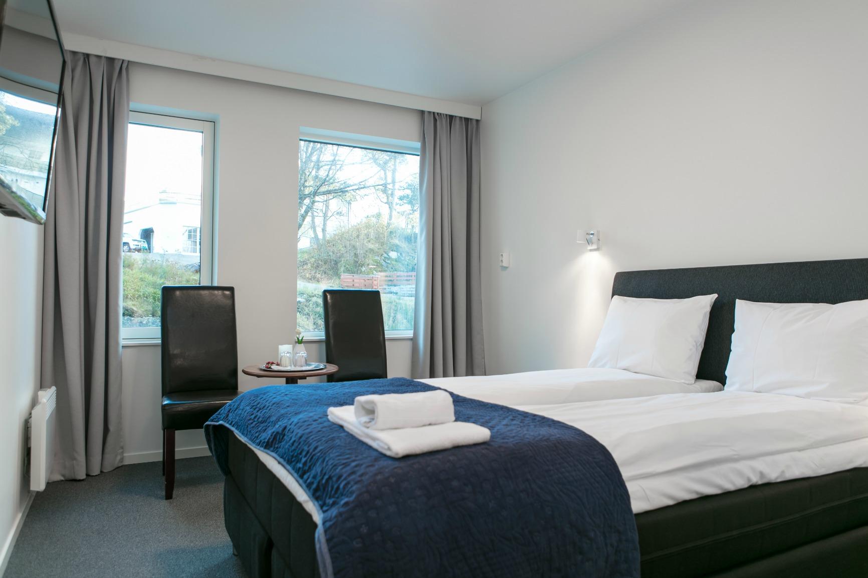 Kinn Hotell - Florø De lux dobbeltrom